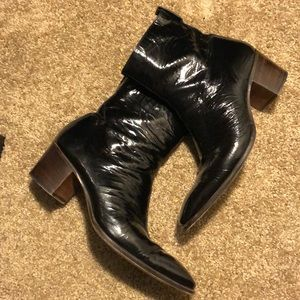 Authentic YSL Johnny boot